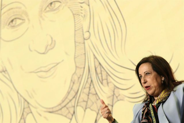 La ministra de Defensa en funcions, Margarita Robles, durant la seva intervenció en el 'Forbes Summit Women 2019', que busca promoure la igualtat i l'apoderament femení, a Madrid (Espanya), a 2 d'octubre de 2019.