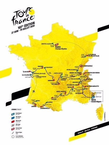 El Tour 2020 hará brillar a Pirineos y Alpes con cronoescalada incluida