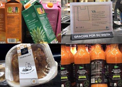 El Corte Inglés implementa en sus tiendas un plan de 'packaging' más sostenible