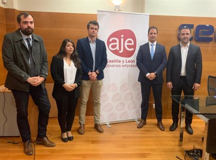 La Asociación de Jóvenes Empresarios de CyL integra a cinco provincias, con el soriano Jesús Ciria al frente