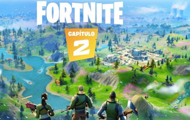 El capítulo 2 de Fortnite introduce un nuevo mapa con 13 ubicaciones y nueva jug