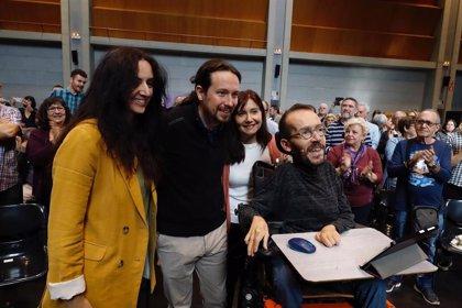"""Abengoechea (Unidas Podemos) defiende """"la trinchera"""" de quienes se oponen a """"los privilegios y el bipartidismo"""""""