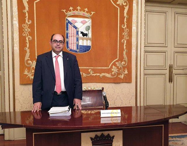 Fernando Rodríguez En El Ayuntamiento De Salamanca.