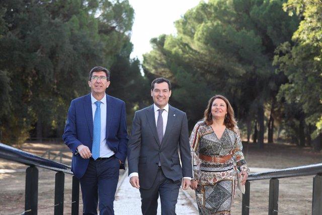 """Moreno apuesta por una """"revolución verde"""" que convierta a Andalucía en un refere"""
