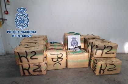 Tres detenidos por el transporte de hachís desde el alijo a una 'guardería' en Algeciras