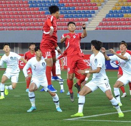 Las dos Coreas empatan en Pyongyang en un partido rodeado de hermetismo