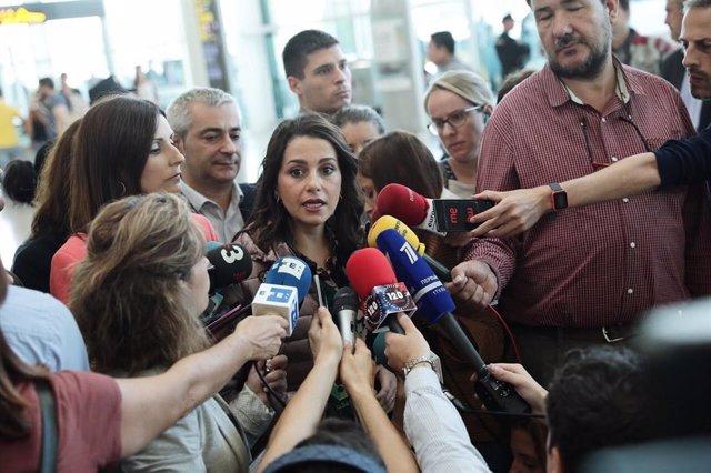 La portaveu de Cs al Congrés,  Inés Arrimadas.