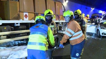 """Un simulacro en el túnel de Miravete estudia la """"coordinación de todos los servicios"""" en caso de accidente grave"""