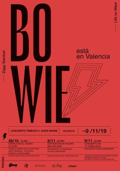 """El espíritu de Bowie, """"más fuerte que nunca"""" en València"""
