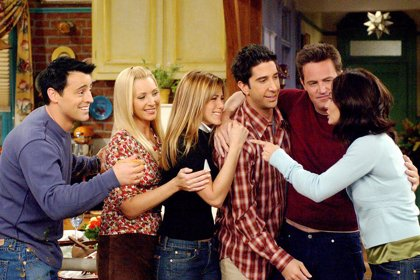 Reunión de los seis protagonistas de Friends... en el Instagram de Jennifer Aniston