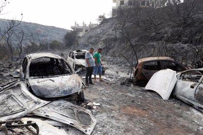Líbano pide ayuda internacional para hacer frente a varios incendios forestales