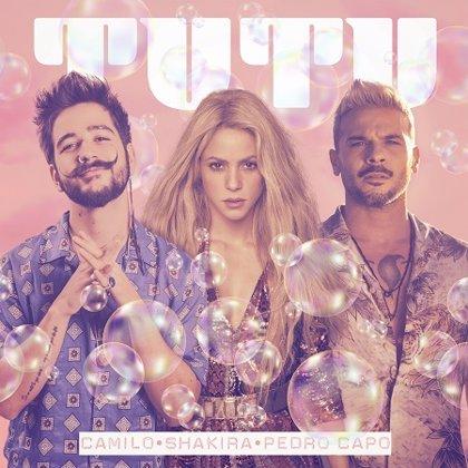 Shakira se une a Camilo y Pedro Capó para una nueva versión de 'Tutu'