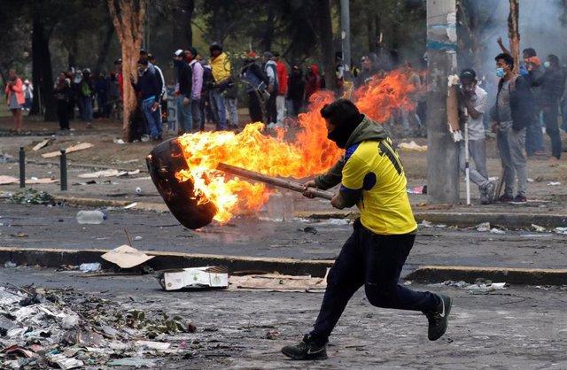 Protestas contra el Gobierno de Lenín Moreno en Quito