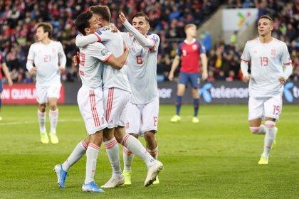 La selección española sigue sin fallar en una fase final desde la Eurocopa de 1992