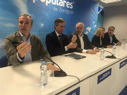 """González Terol (PP) dice que Aragón sufre el """"invierno fiscal"""" y promete suprimir gravámenes"""
