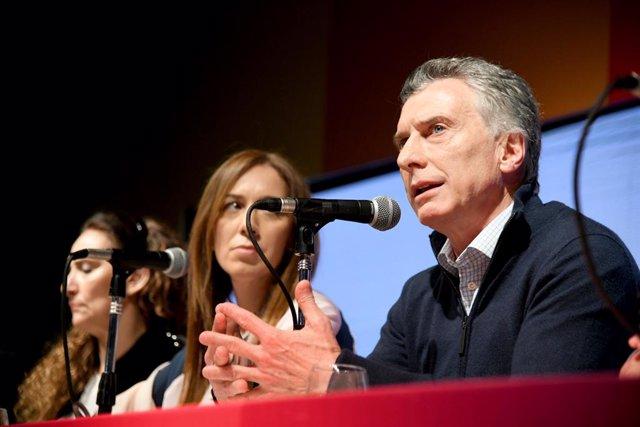 """Argentina.- Macri promete """"terminar con la droga en los barrios"""" si es reelegido"""
