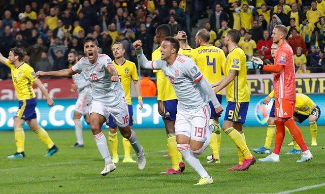 Fútbol/Selección.- Crónica del Suecia - España, 1-1