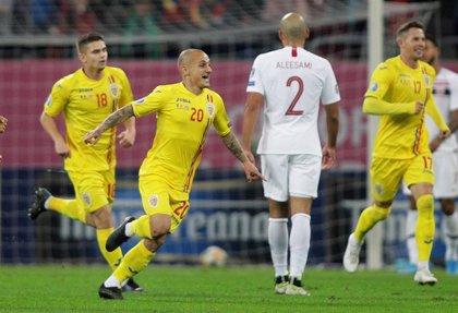 Rumanía no aprovecha el empate del Suecia-España y se mantiene tercera