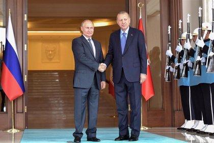 El Kremlin avanza que Erdogan podría visitar Rusia a final de octubre