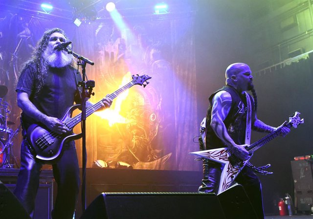 Slayer In Concert At The Hard Rock Joint In Las Vegas