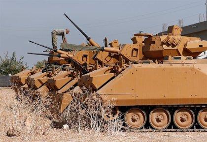 Mueren dos soldados sirios en un ataque de artillería turco