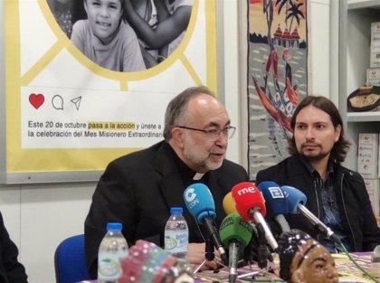 """El arzobispo invita a la Familia Real a tener """"un gesto"""" con los encerrados de Vesuvius en la Catedral el jueves"""
