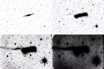 Se observan detalles fantasmales en las afueras de las galaxias