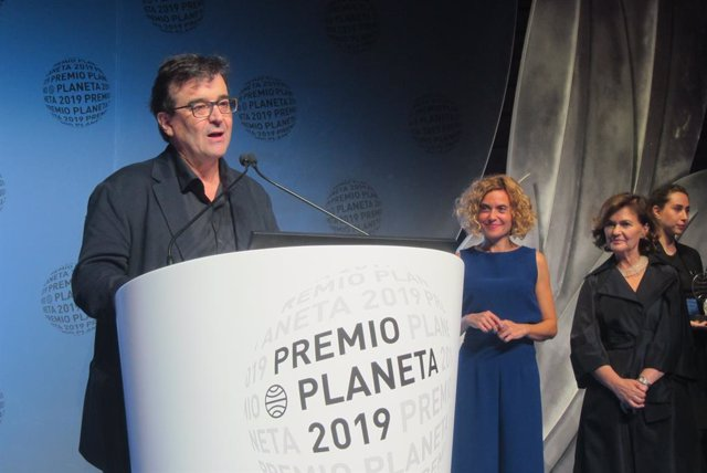 Javier Cercas, guanyador del Premi Planeta 2019