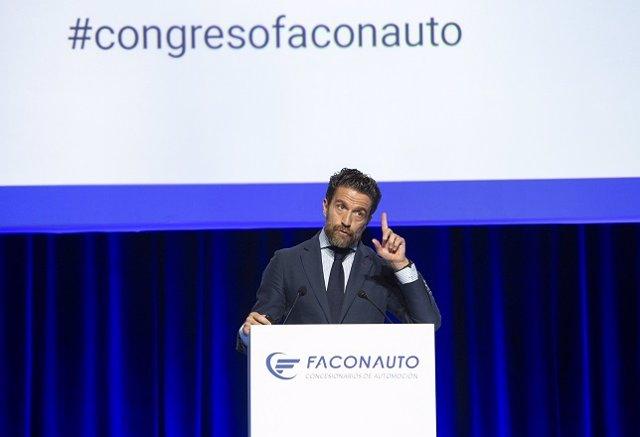 Gerardo Pérez, presidente de Faconauto, en el XXVIII Congreso & Expo de Faconauto