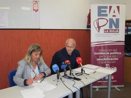 """EAPN La Rioja ve """"preocupante"""" el aumento de la pobreza en la región al pasar de 45.000 a 64.000 personas, un 20,4%"""