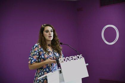Podemos pide a Sánchez que vuelva al planteamiento en Cataluña de hablar de plurinacionalidad, relator y diálogo