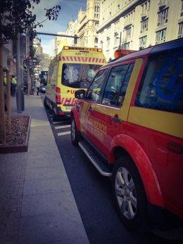Un obrero muerte al caer por el hueco del ascensor en Gran Vía de Madrid