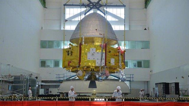 China muestra la primera imagen de su explorador de Marte