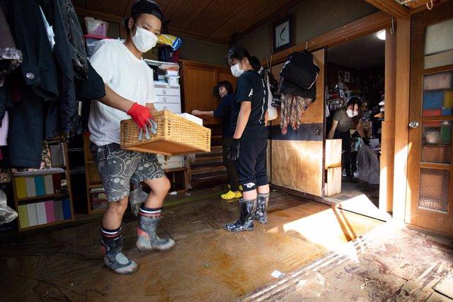 El tifó Hagibis provoca inundacions i destrosses en milers d'habitatges al Japó.