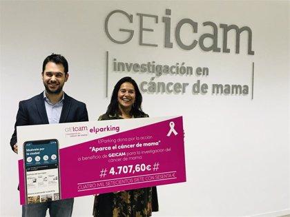 ElParking suscribe una alianza con GEICAM para apoyar la investigación del cáncer de mama