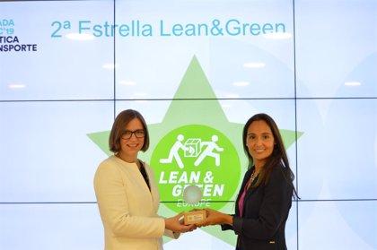 Lidl recibe la segunda estrella 'Lean & Green' tras reducir un 10% sus emisiones de CO2 en la logística en 12 meses