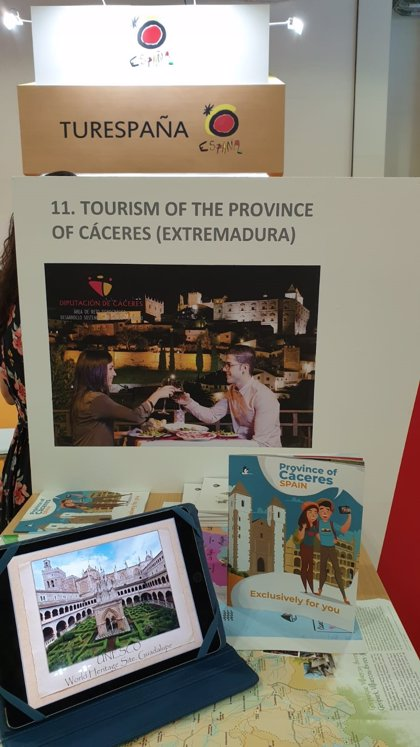 La provincia de Cáceres muestra sus bondades en la feria ITB Asia, que se celebra en Singapur