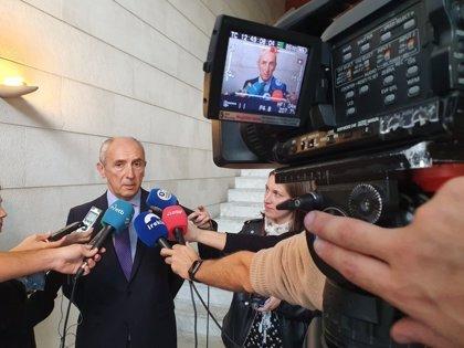 """Erkoreka apela a """"la cordura y a la mesura"""" ante la violencia en algunas movilizaciones contra la sentencia del procés"""