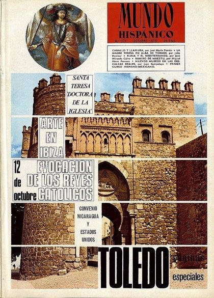 La web del Archivo Municipal de Toledo expone la muestra 'Toledo en la revista Mundo Hispánico'