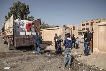 El enviado de la ONU pide desde Damasco el cese de los combates en el noreste de Siria