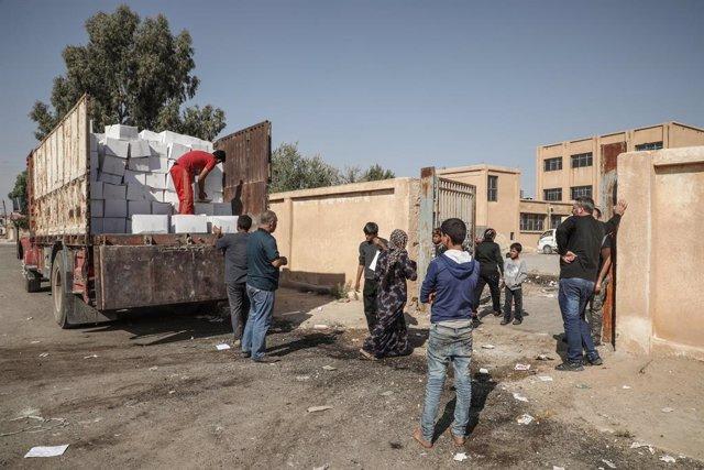 Siria.- El enviado de la ONU pide desde Damasco el cese de los combates en el no
