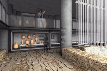 La obra arquitectónica del Museo del Barrio del Foro Romano estará terminada a finales de octubre