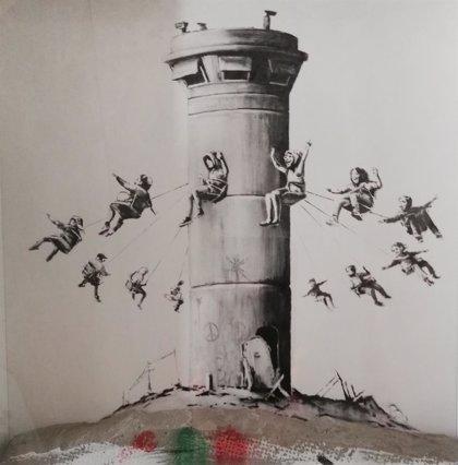 Dos obras de Banksy, a la venta por 2.000 euros en el Salon du Connaisseur de Madrid