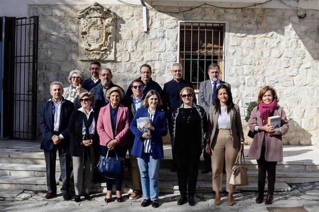 La Consejera de Cultura de la Comunidad de Madrid, Marta Rivera, visita Olmeda de las Fuentes