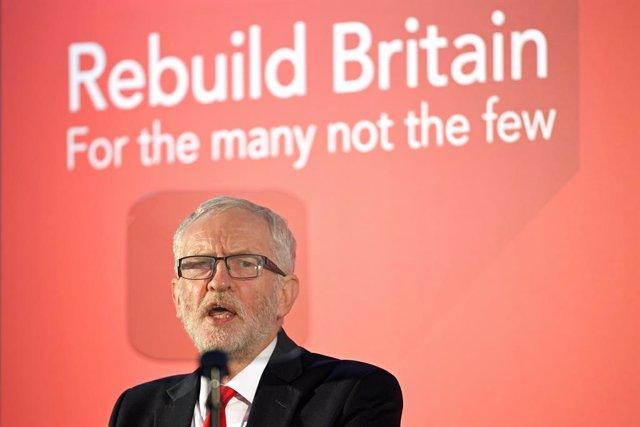 Brexit.- Corbyn avisa del previsible rechazo laborista al plan del Brexit que ne