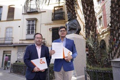 Cs propone que Sevilla sea la próxima sede del encuentro de la Red de Ciudades Cervantinas