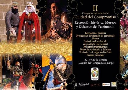 Caspe celebra su II Congreso Internacional Ciudad del Compromiso de recreaciones históricas este fin de semana