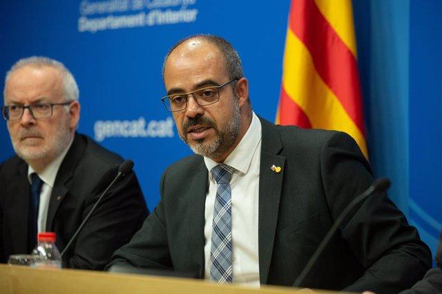 El conseller d'Interior, Miquel Buch.