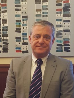 Òscar Gorgues, nou gerent de la Cambra de la Propietat Urbana De Barcelona.