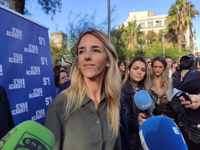 La Candidata del PP per Barcelona a les Eleccions Generals del 10N, Cayetana Álvarez De Toledo